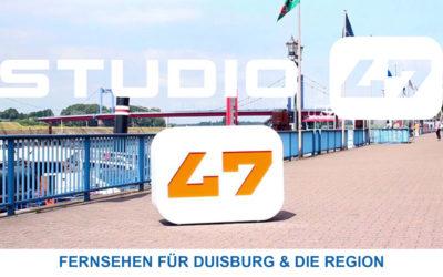 Ein Interview im STUDIO 47 – Stadtfernsehen Duisburg
